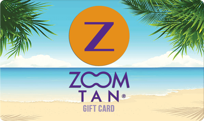 Standard Gift Card - beach scene with logo