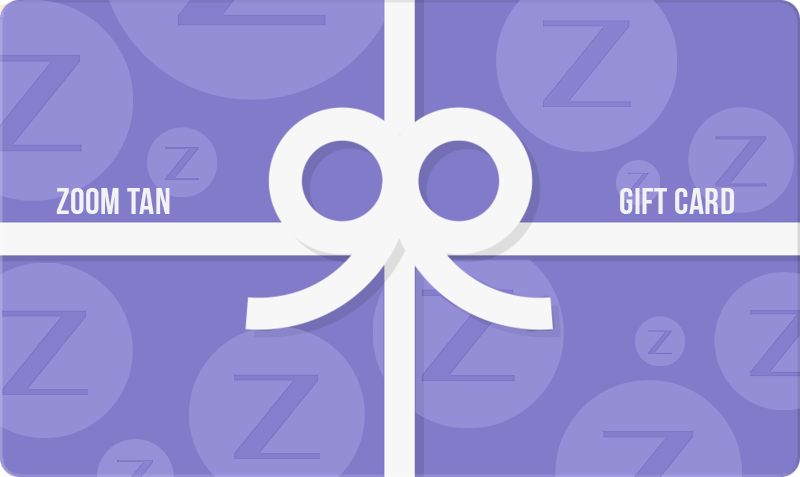 Standard Gift Card - Purple background with logo pattern and white ribbon